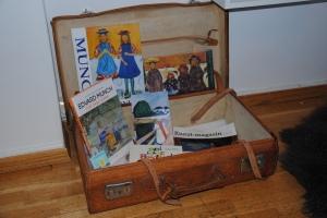 Munch i koffert