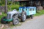 Pappas traktor.