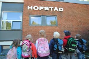 Hofstad skole.