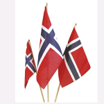 Norges flagg.