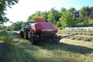 Traktor på besøk.