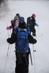 Langtur på ski.